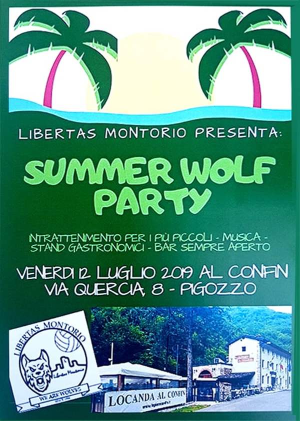 SUMMER WOLF PARTY